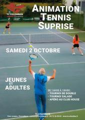 Animation tennis suprise