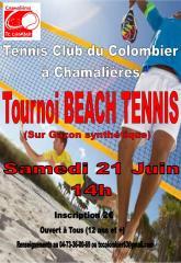 Tournoi Beach Tennis