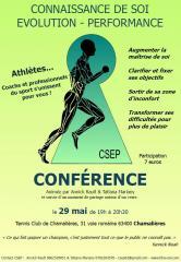 Conférences connaissance de soi et performance sportive