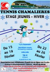 Stages Jeune Hiver