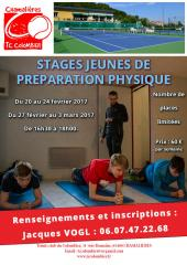 Stages jeunes de préparation physique